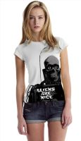 Aliens Are Nice T shirt by kenfreelance