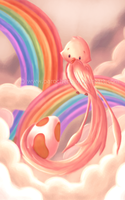 Flying Rainbows by parochena