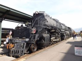 Big Boy 4014 5-5-2014 by Pwesty