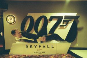 Skyfall Standee by Neville6000