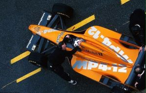 David Coulthard (Spain Pre-Season Test 1997) by F1-history