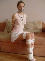 Girl in rope by Faust1984