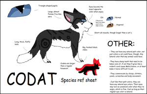Codat Species Ref Sheet by Riverwolf12