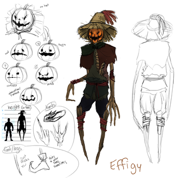 Effigy the scarecrow by TranslucentRainbow