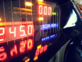 KITTs Dashboard All Lit Up 06 by sicklilmonky