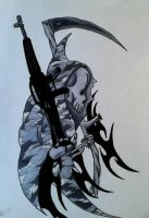 grim reaper- military by CastielAWASG