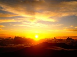 Haleakala Sunrise by EvaMcDermott