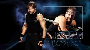 Dean Ambrose Blue Wallaper by Sexton666