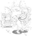 Marle taunting an Imp. by RyanJampole