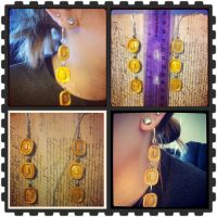 Mario Coin Earrings by Faye-Fox
