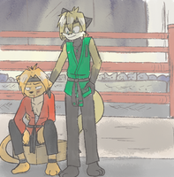 After the Fight -for CloudTK- by Mister-Saturn