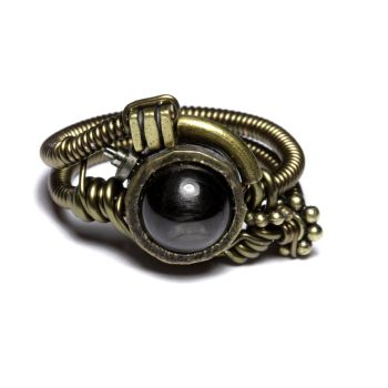 Steampunk jewelry Ring Meteor by CatherinetteRings