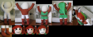 Classic Link - Progression by PlushMayhem