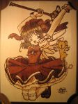 Card Captor Sakura Woodburn by Obidesuka
