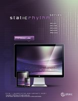 Static Rhythm Crossed Lilac by submicron
