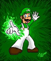 Luigi Rawks by chocolatetater-tot
