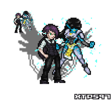 JUSR: Xen and AI sprites by XTP597