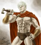 Captain in Spartan Outfit. by nasumaru