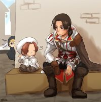AC+APH: Tour at Venice by qianying