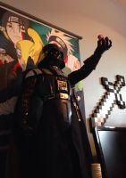 Vader has a Pinkie Pie by RedApropos