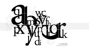 the ALPHABET by nvrdi