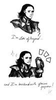 Im Loki of Asgard ... by Vicky-Pandora