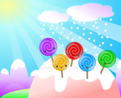 Lollipop Land by Nashiil