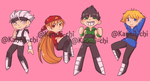 Rrb Stickers Promo by kanoii-chi