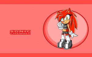 Sonic Channel: Rosso Umbra by XPink-BulletX