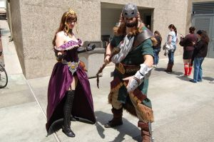 Garruk and Liliana 2 by Kensadi