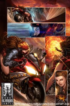 Valkyrie Saviors Preview 2 by Mountolympuscomics