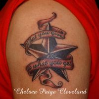 What you give - Nautical - Tattoo by Chelsea by SmilinPirateTattoo