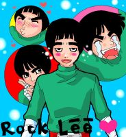 rock lee for bunkun by curry23