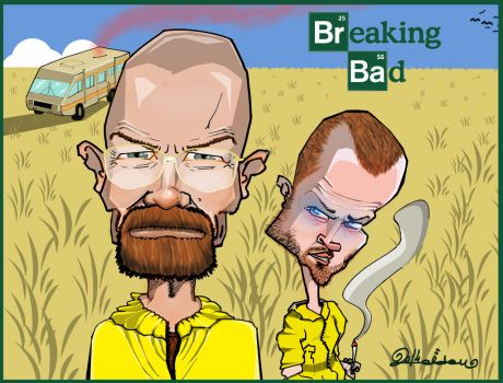 Breaking Bad by eRdemtoker