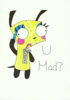 Gir 'U Mad?' by Booksmusicme
