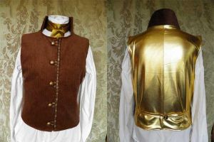 Steampunk-Victorian-Mad Hatter waistcoat PCW13-13 by JanuaryGuest