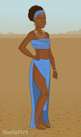 African Princess Redo by airealataiel