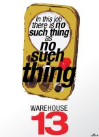 Warehouse 13 poster 3 by ZZTrujillo