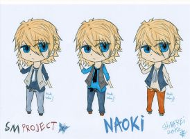 SMproject: Naoki- alternate clothes colour sets by shinarei
