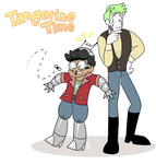 TANGERINE TIME HECTOR by cinsaut