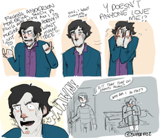 Sherlock: Shark Week. by superfizz