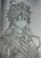 Dark Pit from Kid Icarus: Uprising by hollyvalance