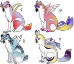 LeaTenshi Agate x Hippolyte Litter [CLOSED] by Squidoptables
