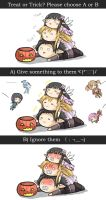 Happy SAO Halloween by GreenTeaNeko