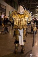Female Tyrael - PAX East 2015 - Back by SilverIceDragon1