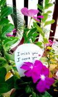 I miss you by yuminica
