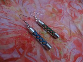 Resident Evil Virus Earrings by TheGeekEmporium