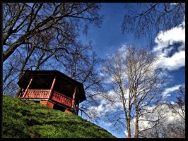 A place in Valmiera town... by Yancis