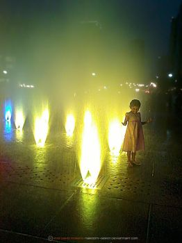 Little Girl in the Fountain by Narodny-Geroy