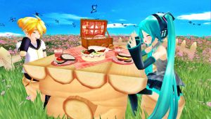 [MMD] Picnic! (Requested) by Snorlaxin